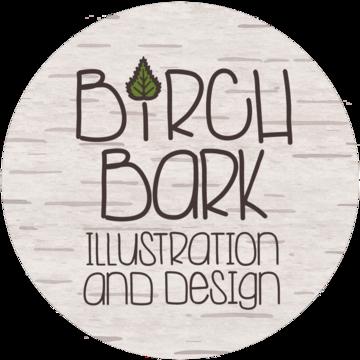 Birch Bark Illustration and Design